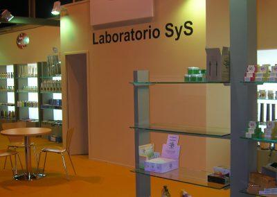STAND LABORATORIO SY S